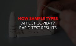 How Sample Types Affect COVID-19 Rapid Test Results