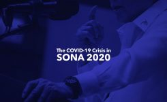 The COVID-19 Crisis in SONA 2020