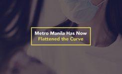 Metro Manila Has Now Flattened the Curve