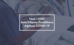 How i-STAT Aids Filipino Frontliners Against COVID-19