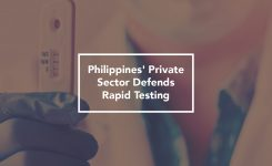 Philippines' Private Sector Defends Rapid Testing