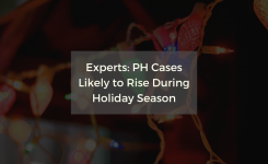 Experts: PH Cases Likely to Rise During Holiday Season