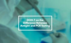 DOH-7 on the Difference Between Antigen and PCR Tests