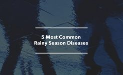 5 Most Common Rainy Season Diseases